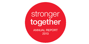2013 annual report logo
